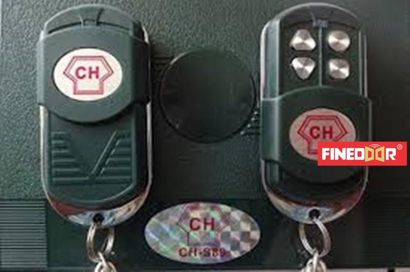 Remote cửa cuốn CH, Hộp thu CH, Bộ điều khiển cửa cuốn CH